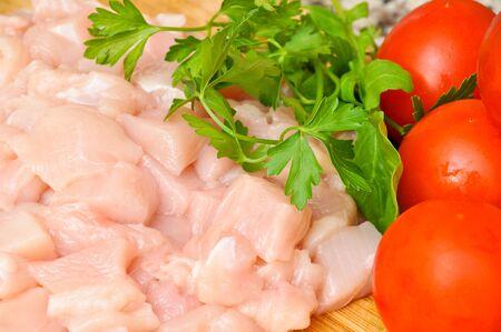 raw chicken: Fresh raw chicken meat ready to cook