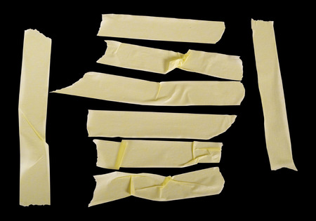 tear duct: Masking tape textures