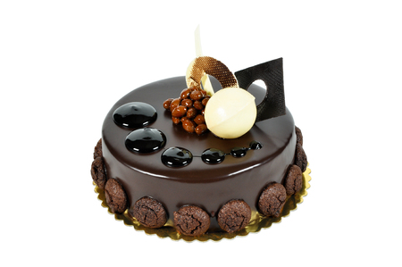 special occasions: Prepared for special occasions, delicious and beautiful chocolate cake