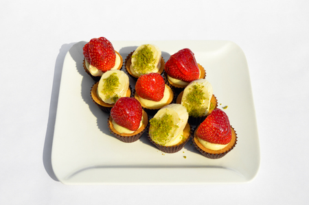 Prepared for special occasions, delicious and beautiful cupcake Stok Fotoğraf