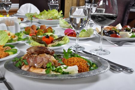 scrumptious: Very delicious Turkish tandir kebap with different presentations