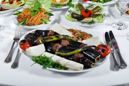 Tasty with different presentation patlican kebap