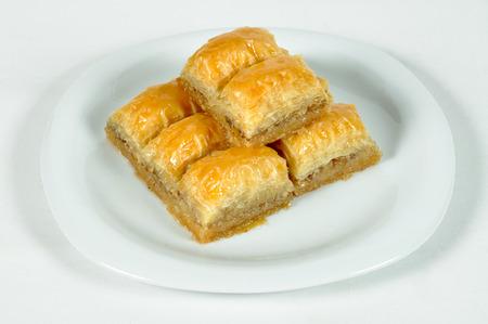 baklava: Baklava, one of the best desserts of Turkish cuisine Stock Photo