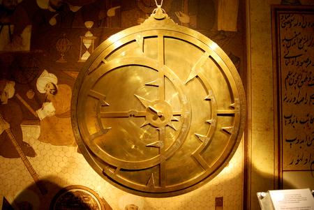 Old and bright astrolabe Фото со стока - 78047987