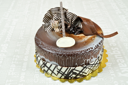 Prepared for special occasions, delicious and beautiful cake