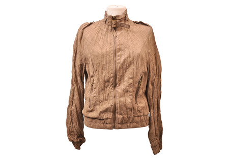 jupe: Nubuck leather jacket from a stylish design