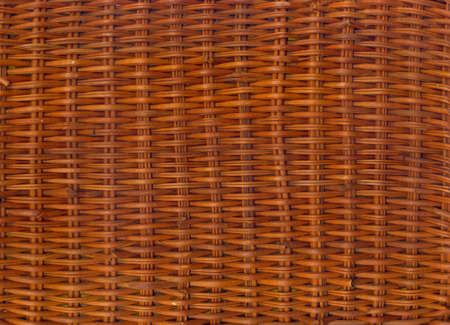 Rattan wicker texture with handmade traditional and dry branches, wicker brown texture background, natural pattern woven wicker