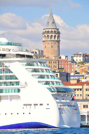 Galata Tower, one of the most visited places in Istanbul bosphorus