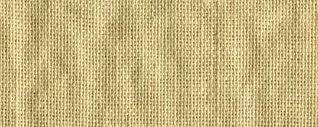 Beige textile woven linen fabric, high quality jute fabric macro shoot Stock fotó