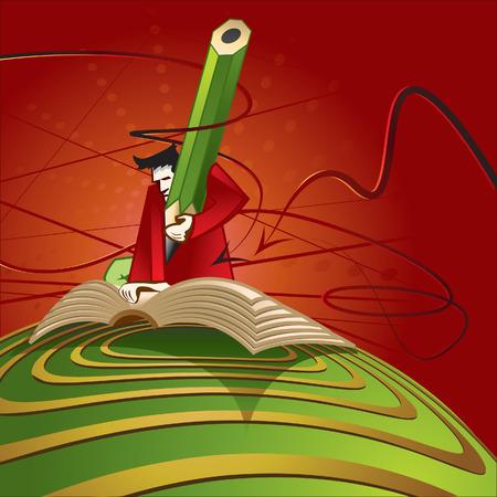 skew: author Illustration