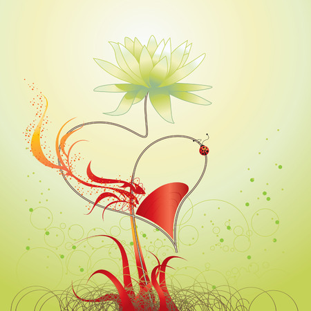 flower love Vector