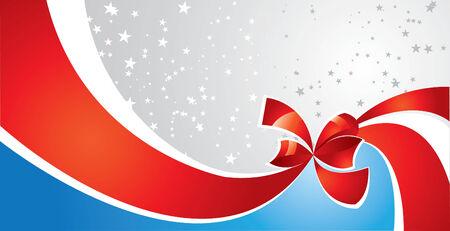 congratulatory: Ribbon Invitation Card