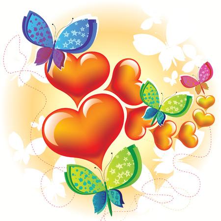 flying stars: love butterfly