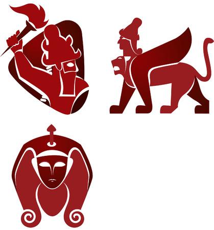 sphinx: storico icone