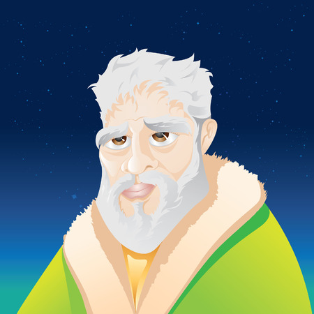 astrologist: philosopher Illustration