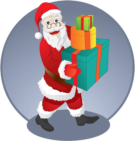 Santa Claus Pack Vector