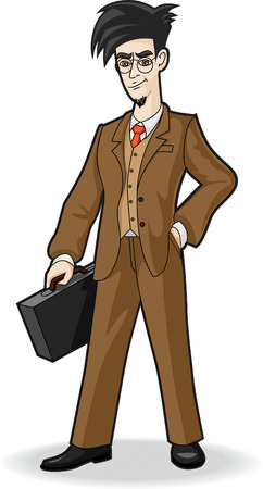 business man Stock Vector - 4070805