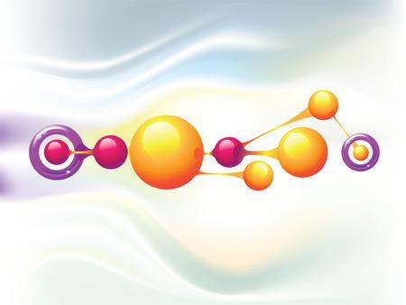 Molecule rings Illustration