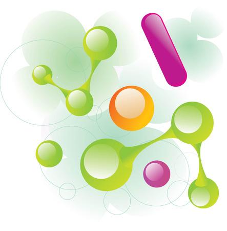 molecule11 Stock Vector - 5137698