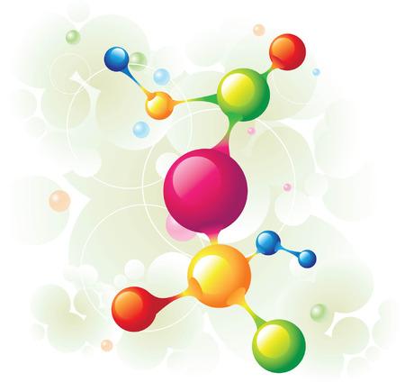 molecule tree Stock Vector - 5137704