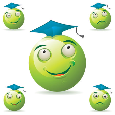 Green Mascot Illustration