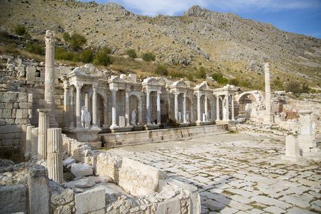 historical periods: The ancient city of Sagalassos in Turkey Stock Photo