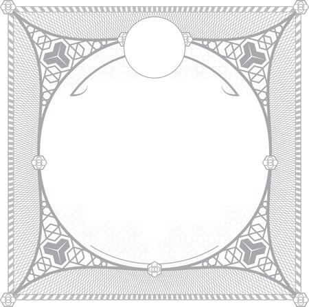 wallboard: Turkish pattern for invitation design Illustration