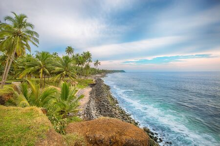 varkala: Beautiful Kerala state, Varkala beach with amazing cliff