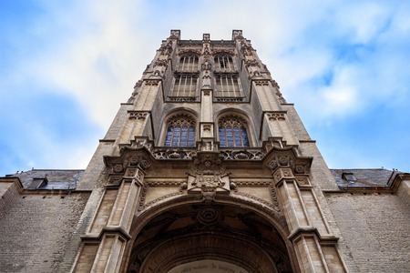 the view from below: Amazing facade of St. James Church, view from below