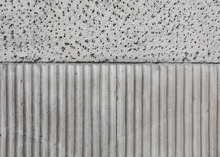 backsplash: close-up texture of sandstone plaster exterior wall Stock Photo