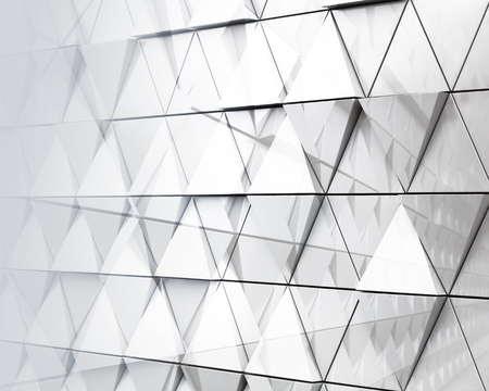 modern architecture: Abstract monochrome illustration of modern architecture. double exposure