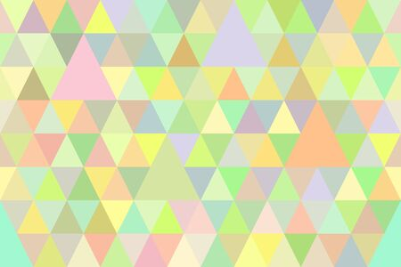 tileable: geometric tileable seamless pattern of colorful triangles