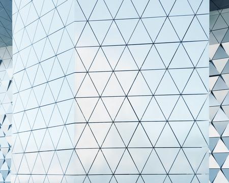 aluminium texture: Abstract architectural pattern