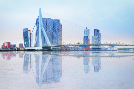 waterfront of Rotterdam