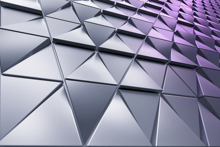 Abstract background of polygonal triangles