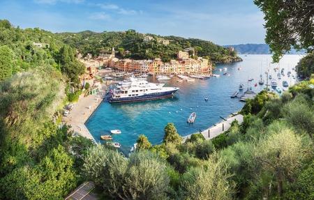 Luxury harbour of Portofino, Liguria, Italy