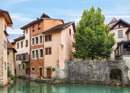 Charming channels Annecy old town
