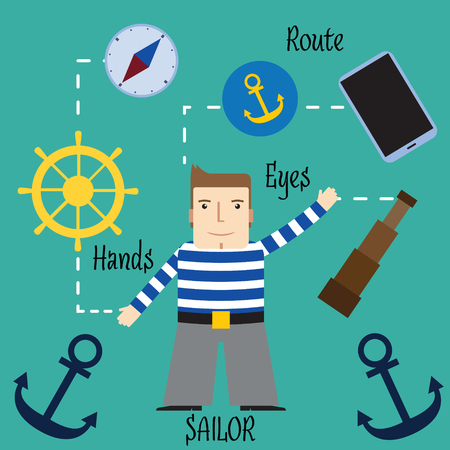 seaman: Important and responsible work of the seaman.