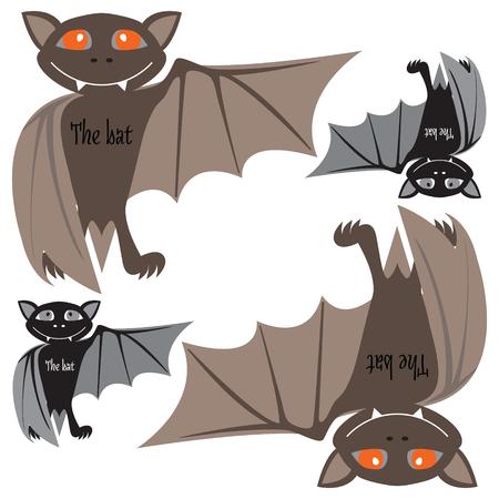 vlad: Halloween bats. Vector.