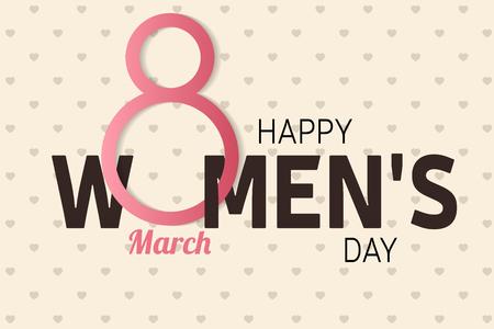 Día de la Mujer de Day.Women. Dibujo Día de la Mujer. Imagen Día de la Mujer. Gráfico del día de la mujer. Arte Día de la Mujer. Ilustración de vector