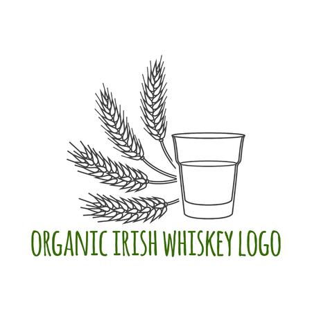 distillery: Distillery symbol. Vector illustration.