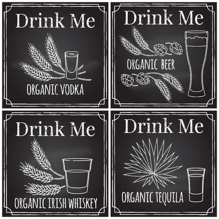 drink me: Set elements on the theme of the restaurant business.