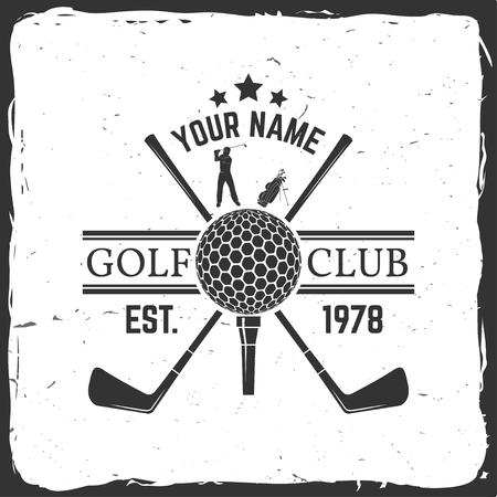 Concetto di golf club
