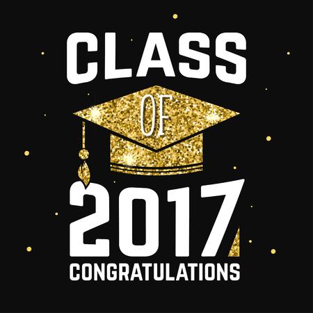 Classe vettoriale del distintivo 2017. Archivio Fotografico - 74728779