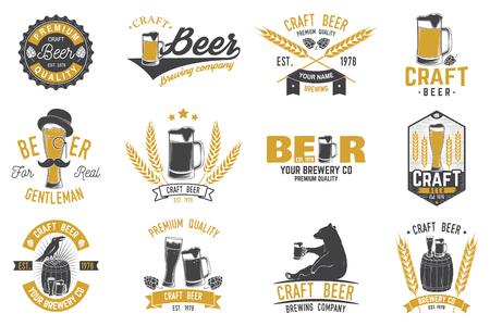 バー、パブ、レストラン ビジネスのビンテージ デザイン。