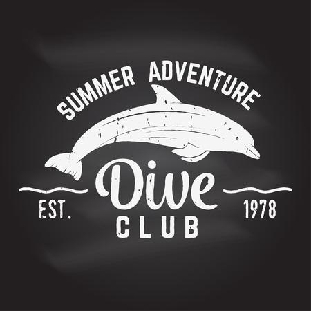 ダイビング クラブ夏の冒険。 写真素材 - 80036153