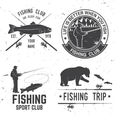 생선을 먹을 때 인생이 더 좋습니다. 벡터 일러스트 레이 션. 일러스트