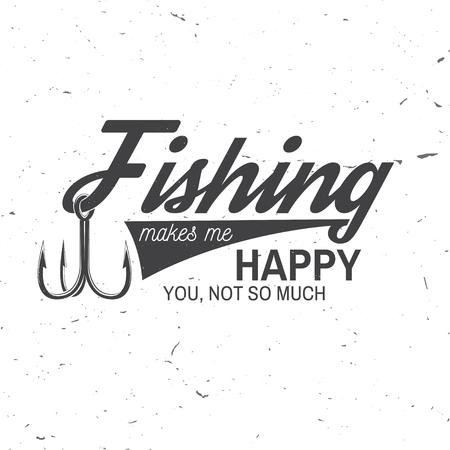Club sportivo di pesca. Illustrazione vettoriale. Archivio Fotografico - 80788812