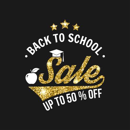 The Big Back to School Sale design