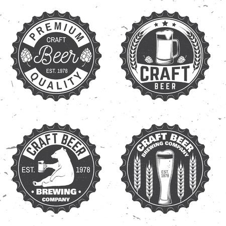 Vintage design for bar, pub and restaurant business. Illustration